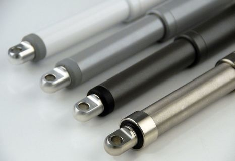 CON35 in-line actuators, in RVS of RVS316 beschikbaar. Standaard IP66 en optioneel in IP68